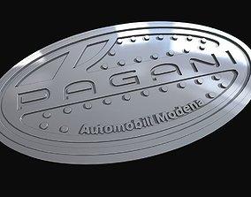 Pagani Badge 3D printable model