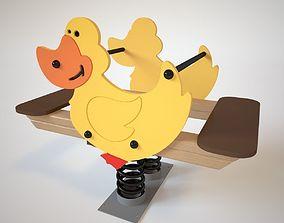 playground 3D Playground Spring - Duck