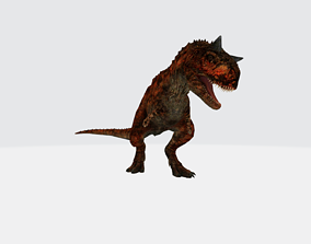 3D asset Carnotaurus with Animation