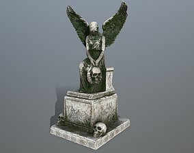 statue 3 3D model game-ready