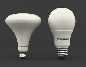 LED light bulbs 3D model