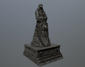 arch statue 3 3D model realtime