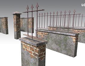 3D asset Brick Wall Pack PBR - Modular - Version 6 -