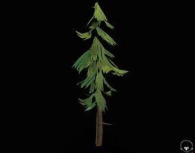 Stylized PBR Trees 3D model