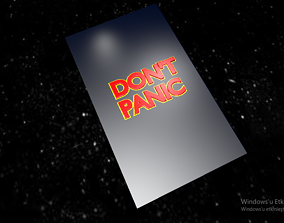 The Hitchhikers Guide to the Galaxy 3D printable model