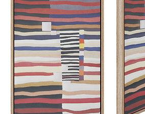 3D asset Djelia painting 50 x 70 cm