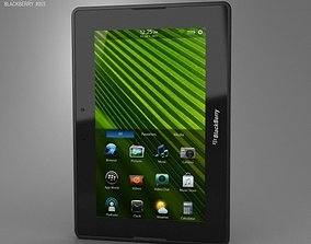 3D asset BlackBerry PlayBook