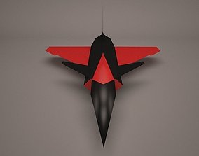 3D Military Aircraft air vray