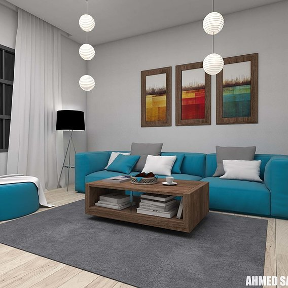 Design Of Living Area