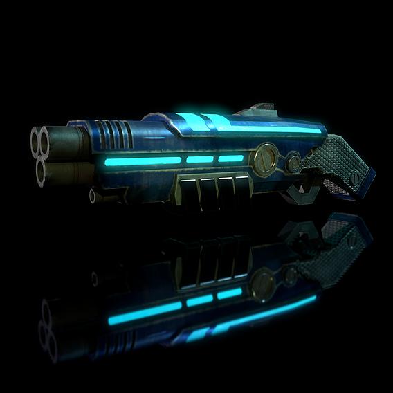 Sci-fi shotgun