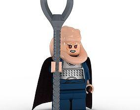 3D LEGO Minfigure Bib Fortuna
