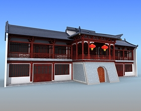 Chinese Building 13 3D