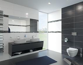 3D asset Bathroom 06
