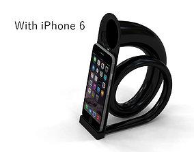 Speaker horn for iPhone 6-7-8 3D printable model