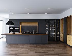 3D model Kitchen by Darren James