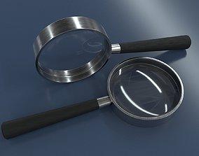 magnifier 3D model PBR