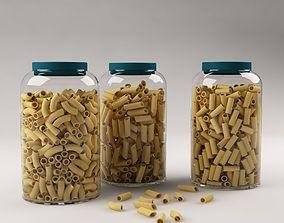 Pasta in a jar 3D
