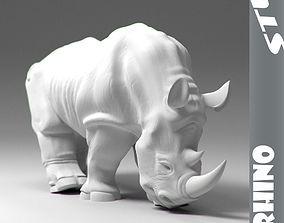 Rhino stl 3D printable model
