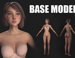 game-ready Female Base Model - Game-Ready Character