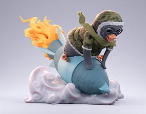 polar 3D printable model Penguin