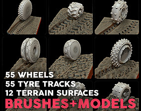 Explorer Ultimate Bundle wheels tyre tracks terrain 3D