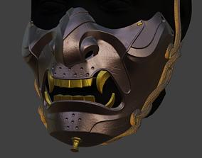 3D printable model Mask from Ghost of Tsushima jinsakai