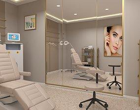 low-poly Beauty clinic 3D model