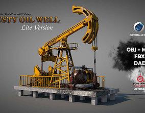 3D Rusty Oil Well LITE