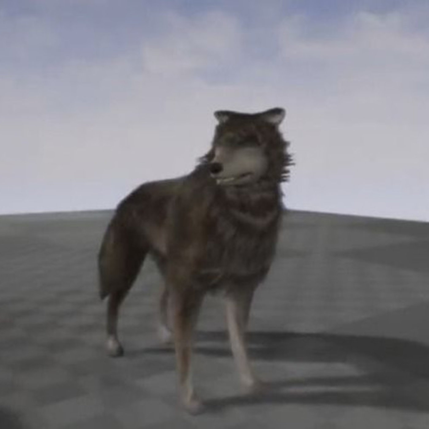 Low-Poly Wolf Rigged and Game Ready