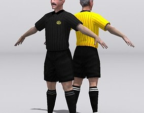 referee 3D asset