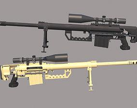 3D model M200 Intervention Sniper Rifle