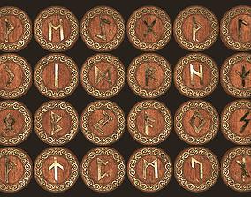 Runes 3D model
