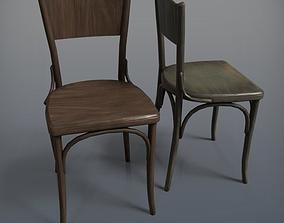 3D model Wooden Chair Dejavu