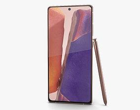 Samsung Galaxy Note20 Mystic Bronze 3D