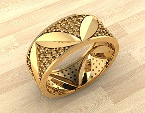 Ring 47 3D printable model fashion-ring