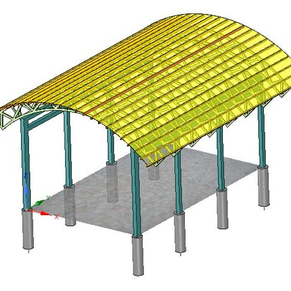 project designing carports for car