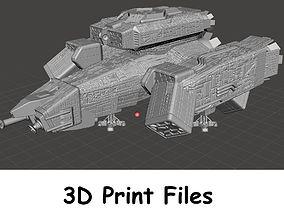 USCSS Nostromo Mining Vessel Digital File for 3D Printing