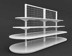 Shelf 3D model 14 furniture