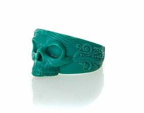 The Skull Ring 3D printable model