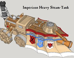 3D print model 10mm Imperious Heavy Steam-Tank