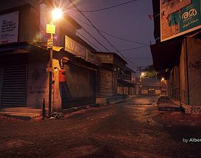 3D Night Street