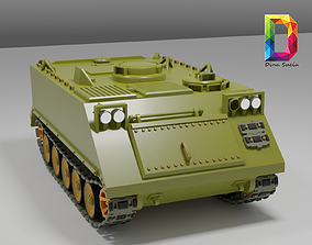3D model M113 APC tank