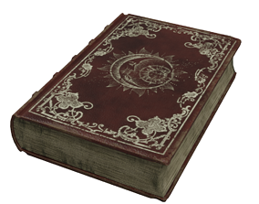 3D model Magic Old Book Animated