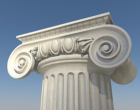3D ionic column