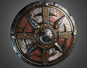 3D model TRS - Ancient Warriors Shield 01 - PBR Game Ready