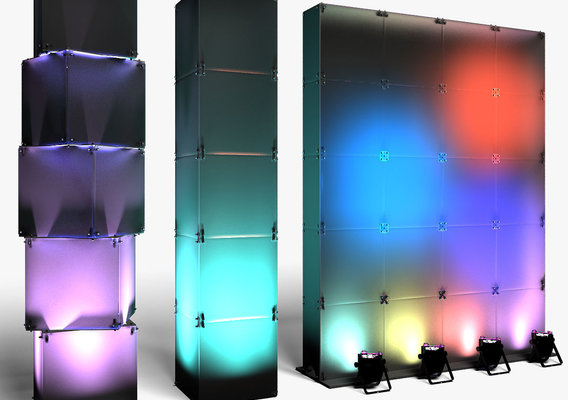 Stage Decor 29 Modular Wall Column