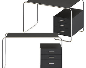 Thonet S 285-2 - work desk 3D model