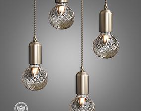 3D Lee Broom Crystal Light
