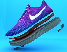 3D Nike Free Distance