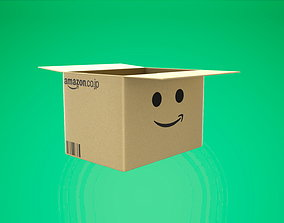 Amazon Box 3D asset